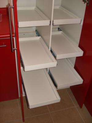 Interior De La Alacena De Cocina Integral Contemporanea Closets Cocinas Y Proyectos De Chihuahua