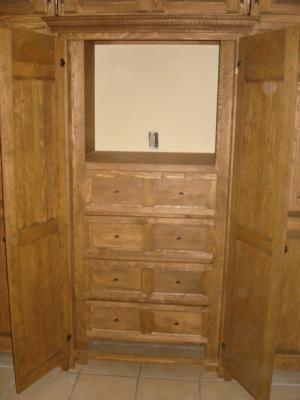 Interior de closet rustico closets cocinas y proyectos for Closet rusticos