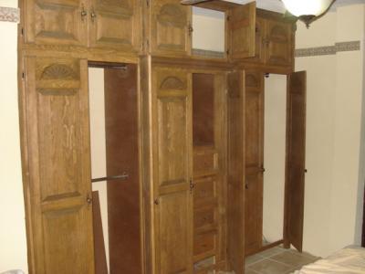 Interiores de closet rustico closets cocinas y for Closet rusticos