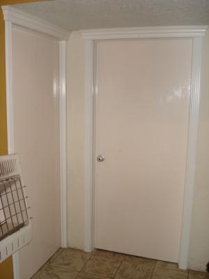 Marcos para puertas interiores y molduras closets for Puertas decorativas para interiores